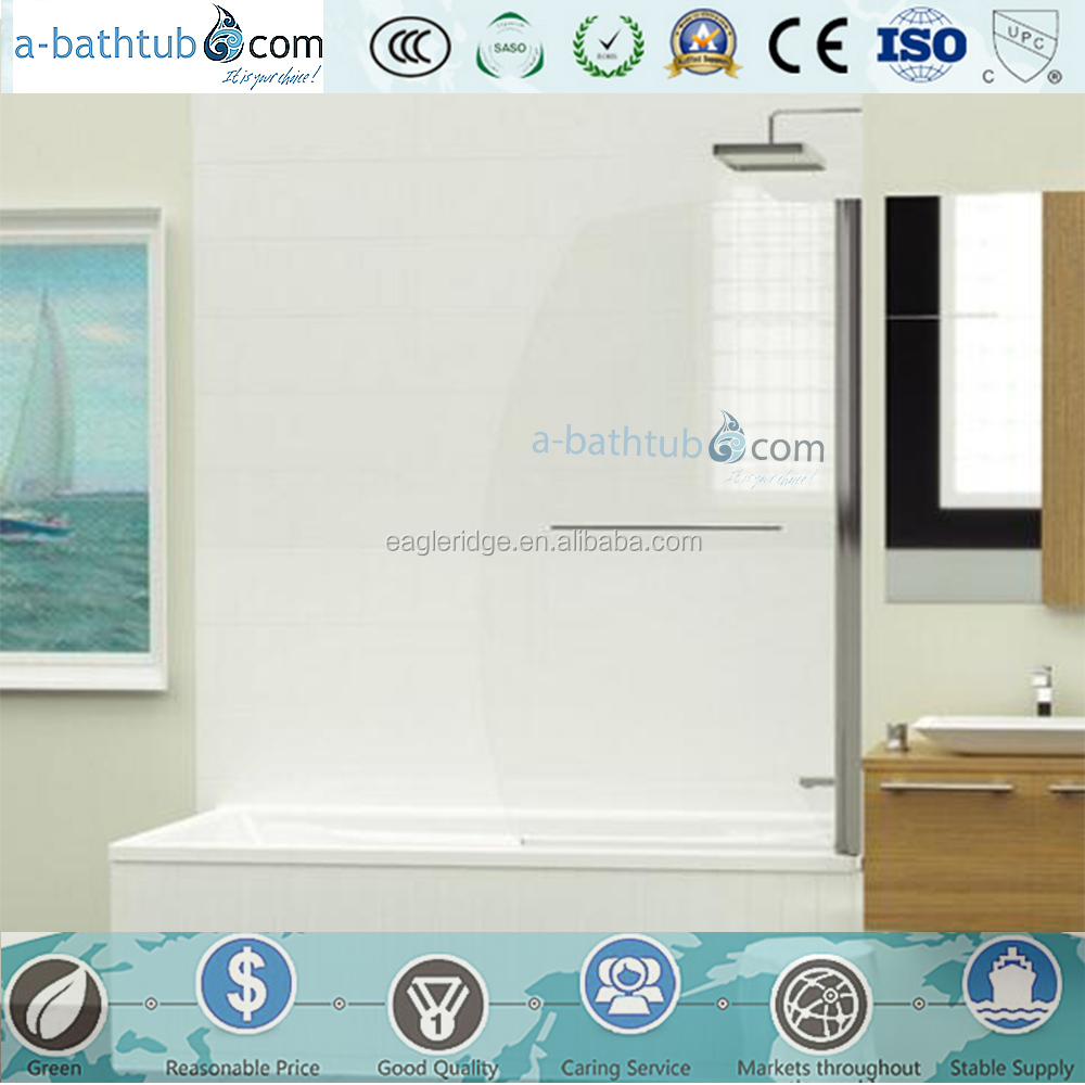 portable dubai Hotel glass bath shower screen