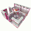 DeTIAN offer widely used aluminum 6x6 upright trade show booth design provider in Shanghai