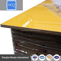 kitchen uv high glossy sheet paint for mdf
