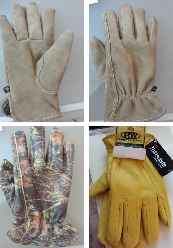Gloves Genuine Sheep skins leather.