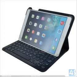 New Coming Bluetooth Keyboard Leather Case for iPad Air P-APPIPD5PUKB005