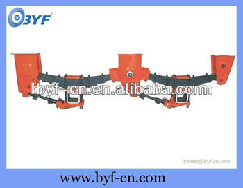 both tandem axle and tri - axle mechanical suspension for bpw and fuwa