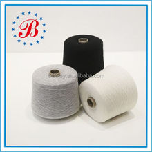 100% Cotton Combed Yarn Ne 24/1 Raw white and Dyed