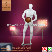 Top level virtual male basketball action mannequin