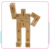 Hot Sale Wooden Robot Toy, Fun toys of Wooden Puzzle Robot IQ Plaything