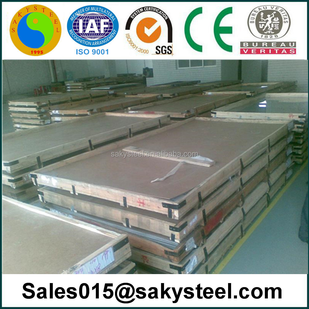 Hot sale Lisco stainless steel sheet for screw parts price