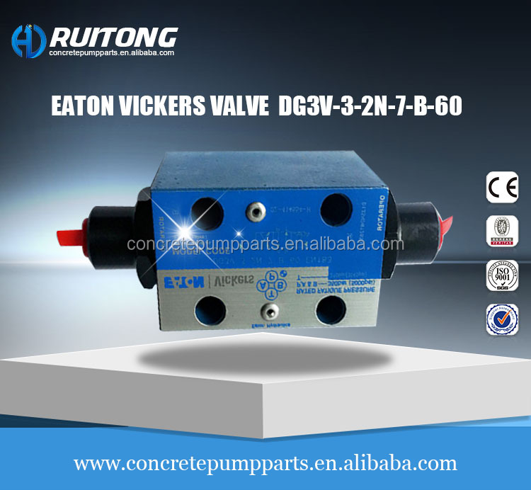 Vickers Small Hydromatic Valve DG3V-3-2N-7-B-60 Hydraulics Valves for Concrete Pump Machine Rexroth Diplomatic