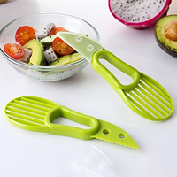 easy open a avocado tool plastic 3-in-1 avocado slicer cutter
