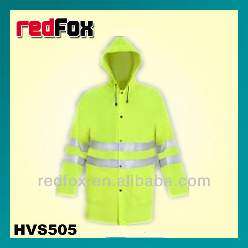 HVS505 men's high visibility rainwear