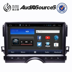 Audiosources : Car dvd player for toyota with bluetooth phonebook function