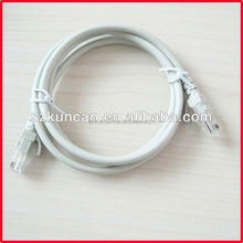 high quality rj45 8 pair utp cat6 cable patch cord, patch cable, network cable