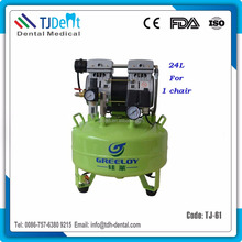 Ce Noiseless 24L Supply One Dental Unit Air Compressor