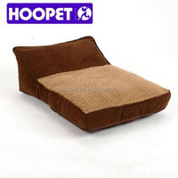 Berber dog sofa beds igloo pet bed with fleece