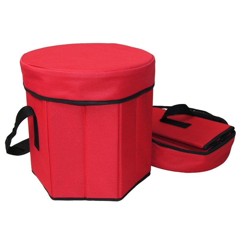 Outdoor Portable aluminium foil Insulated Cooler bag with folding handles