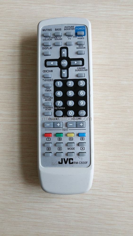 tv remote control for JVC RM-530F
