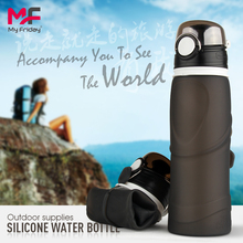 Newest Leak-proof Foldable Silicone Water Bottles