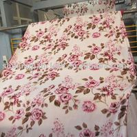 100% Polyester Printed Coral Fleece Fabric JL-07