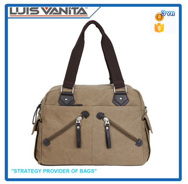 Stylish Canvas Travel Man Bag