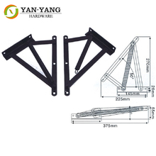 Sofa Bed Mechanism Hinge With Spring , Furniture Triangle Mechanism Hinge