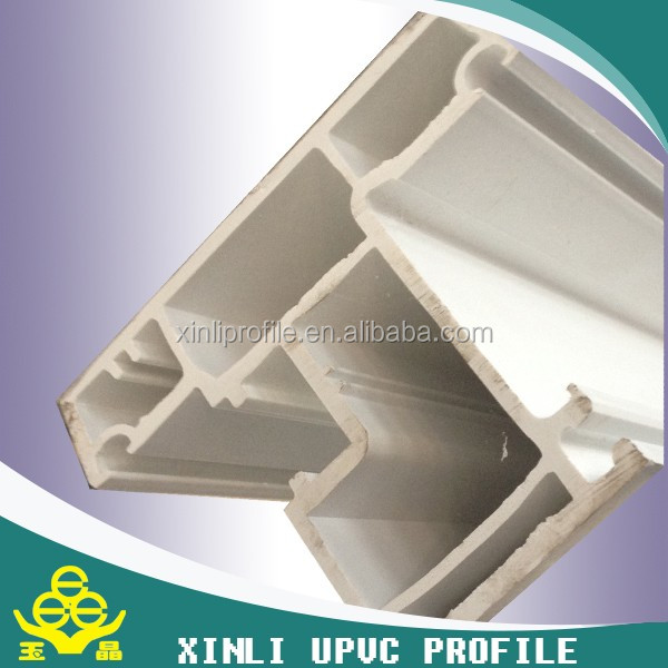 Plastic building materials high quality aluminium extrusion profile
