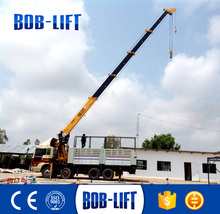 Hydraulic 16t Telescopic Boom Used Crane Trucks in Uae for Sale SQ16SA4