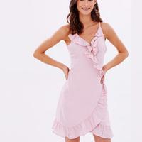 Latest Design New Style Women Ruffle Dress Wholesale Clothing