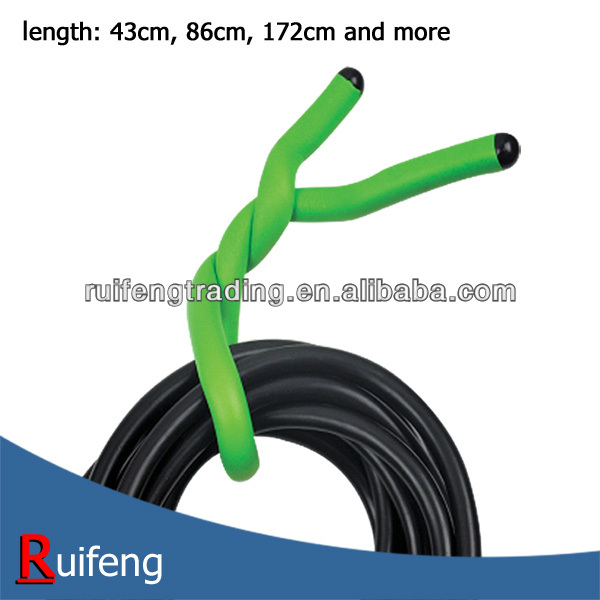 43cm, 86cm, 172cm and more length EVA grip soft twist tie