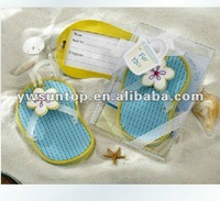 Flip Flop Luggage Tag favors beach theme wedding favors on sales