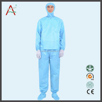 ESD Antistatic 10mm strip TC garment ESD work coats