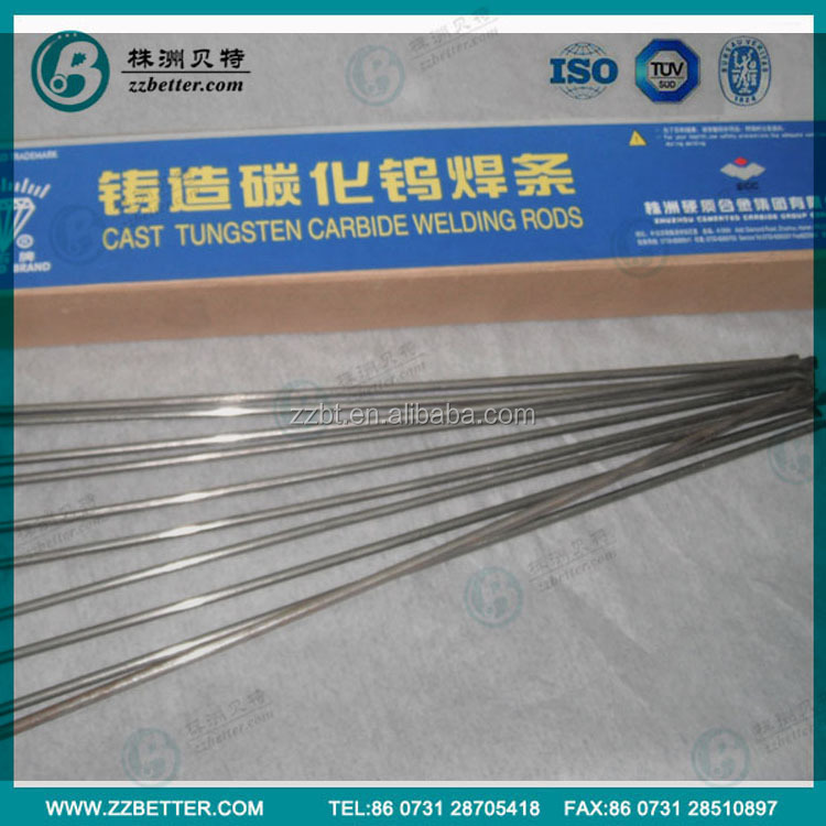best price cast tungsten carbide electrodes/cast tungsten carbide welding rods