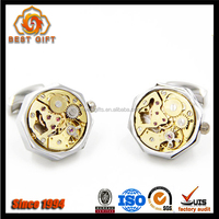Guangdong Manufacturer Good Quality Quick Delivery Custom Low Price Metal Watch Mechanism Cufflinks