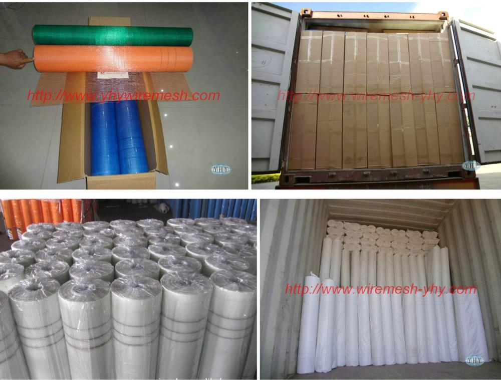 4x4/5x5 Plaster fiberglass mesh net with good latex from Chinese factory