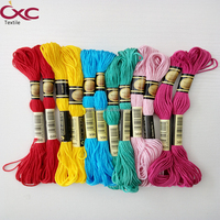 100% CXC original good quality cross stitch thread