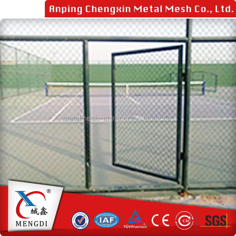 High Quality Chinese Beautiful Used Chain Link Fence For Sale Factory
