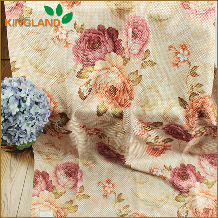 OEM blackout linen like discount designer curtain fabric