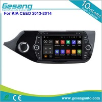 7 inch double din car dvd player with touch screen 3g wifi BT GPS for KIA CEED 2013-2014