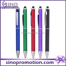 luxury metal ball pen stylus combo promotion product pc screen writing pen