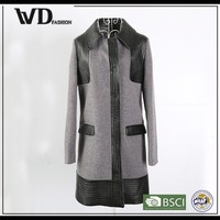 Popular items fashion long coat for women