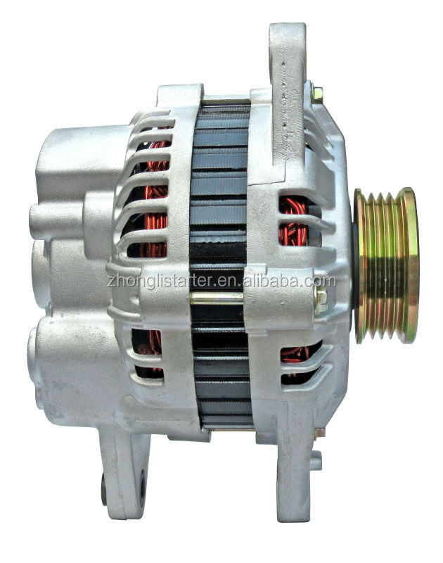 Top-quality auto spare parts rebuilt car alternator for Plymouth&Elantra&Sonata OEM: MD189659 Lester: 13450