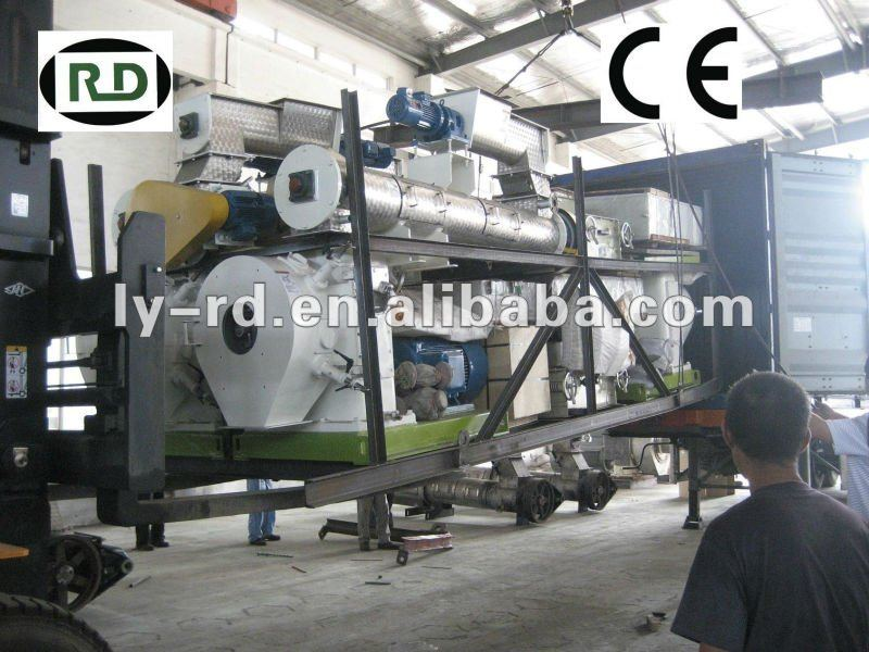 CE/GOST 15t/h double conditioner cattle feed pellet making machine/pellet making mill SZLH508