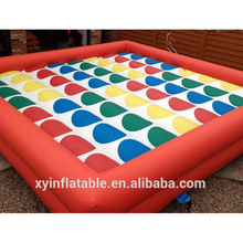 2015 Popular Interactive Twister,Jumbo Outdoor Twister,Hot Sale Twister Inflatable Games For Adult