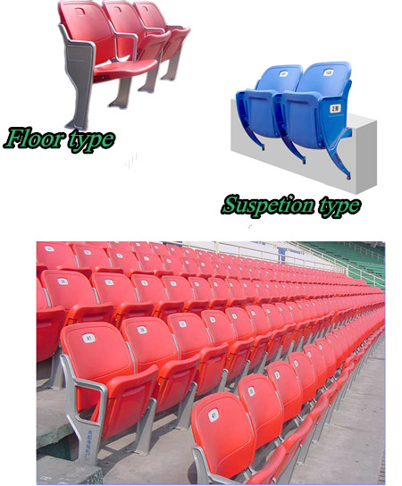 Stadium Chair For Sport Center/hot Sale Plastic Chair On Sale/fashion  Football Chair
