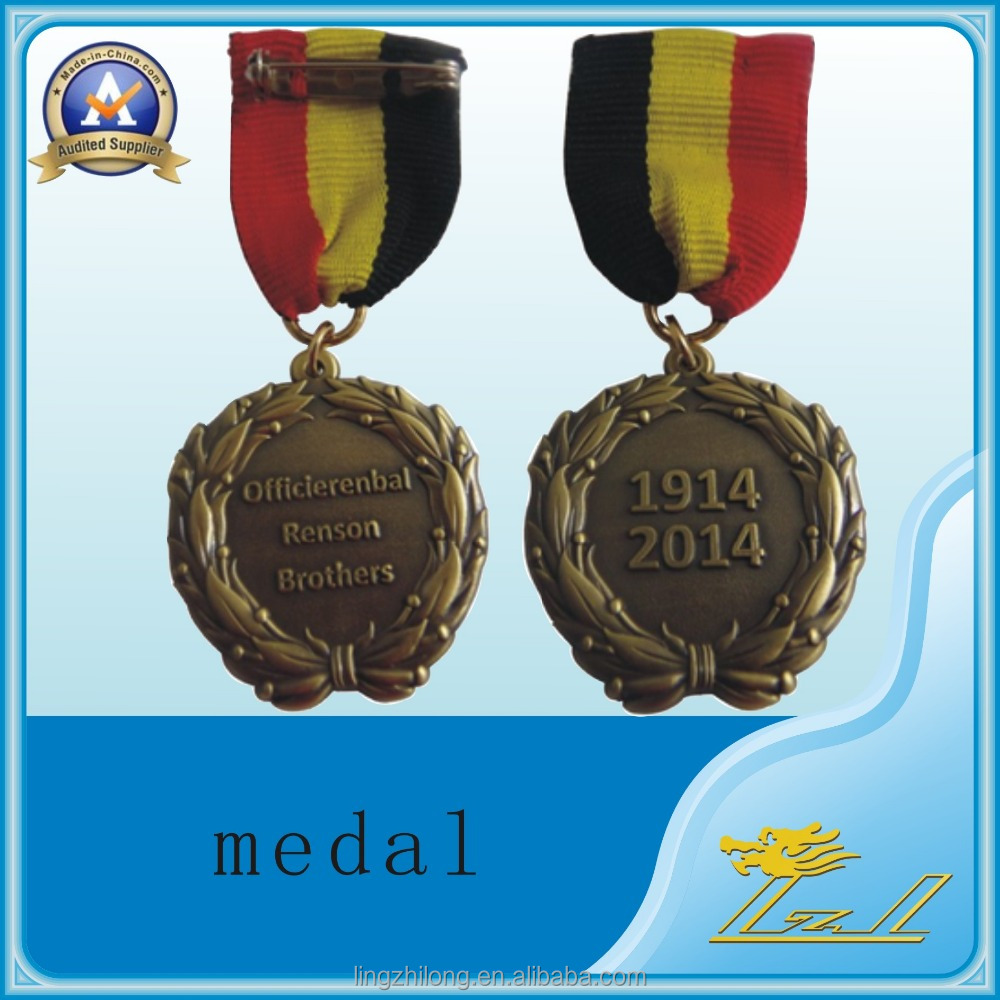 design your own , make metal custom cheap award medal