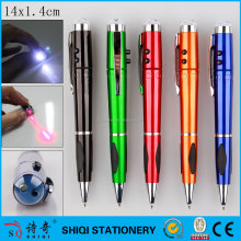 High quality multifunctional customized promotional led light pen