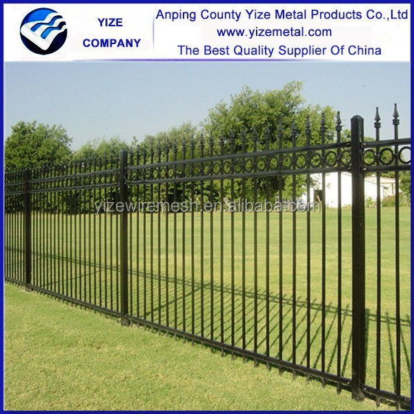 wrought iron fence cost estimator uk for sale craigslist forged spears size suppliers