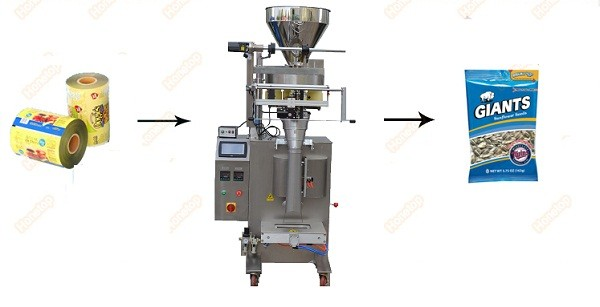PLC Control Touch screen Automatic price drip coffee bag packing machine