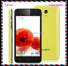Larger screen dual sim MTK6572 Cubot Bobby android mobile phone