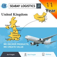 cheap air freight forwarder from China to london