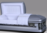 KM1875 luxury coffins for the dead china caskets wholesale