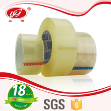 Carton packaging used opp adhesive tape/Clear and brown packing tape/transparent bopp tape